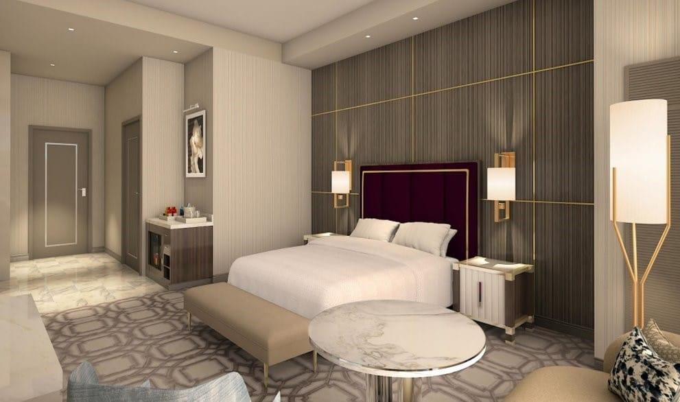 Crockfords Las Vegas - Superior King Room